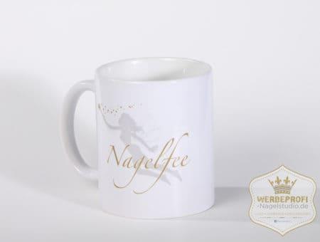 Nagelfee – Tasse – stillvoll Kaffee trinken (Mindestabnahme 10 Stück)