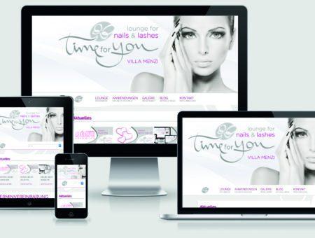 Profi-Webseite / Nails & Beauty-Design
