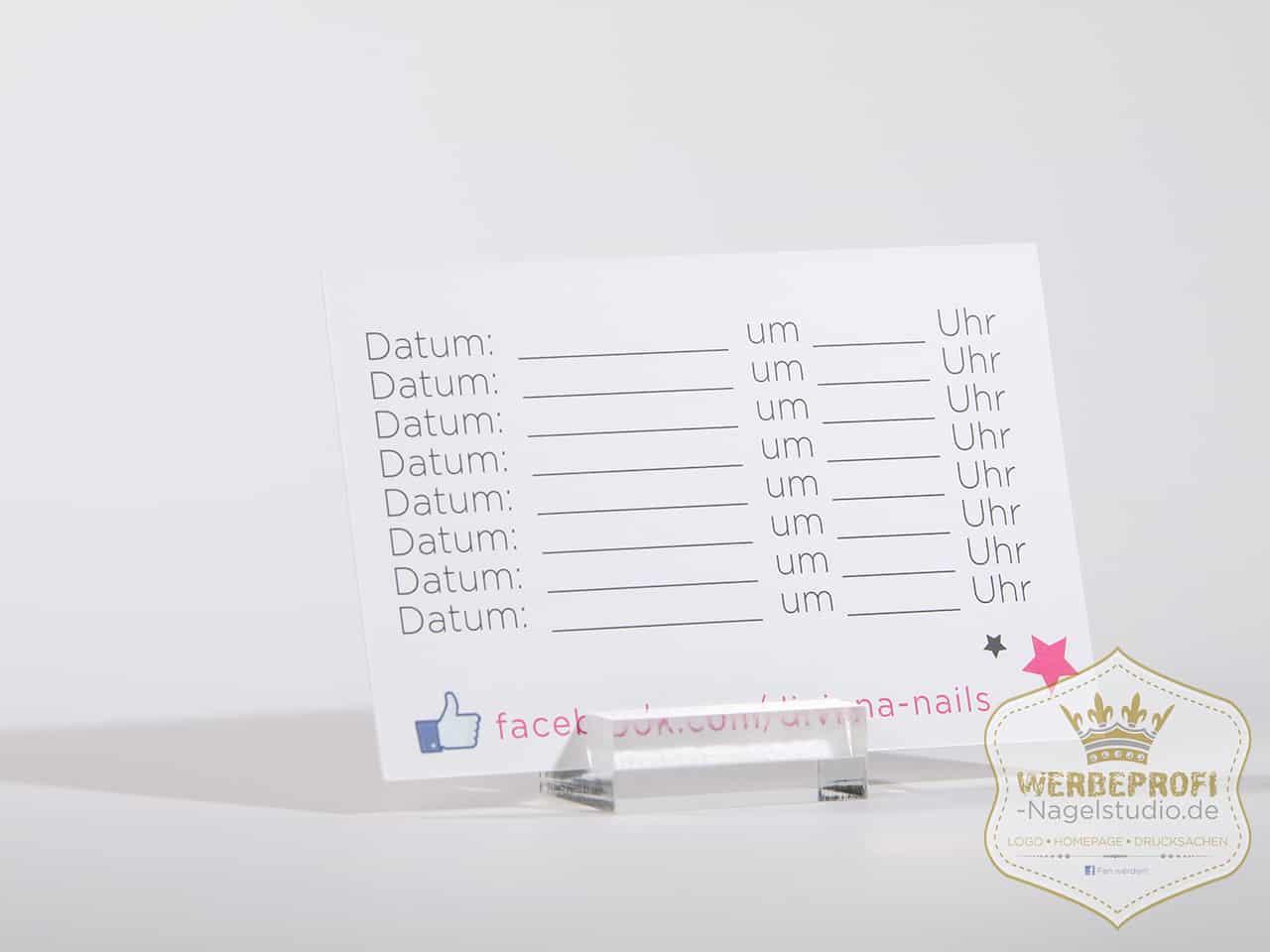 Visitenkarten Flyer Preislisten Für Dein Nagelstudio