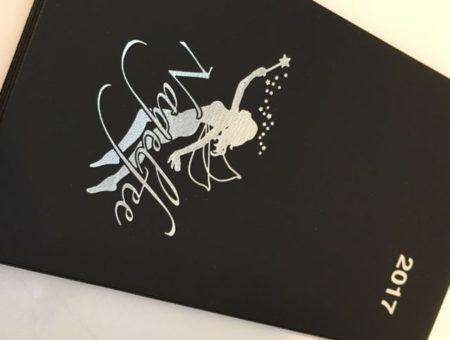 Kalender 2017 mit der Nagelfee – silber glänzend (Mindestabnahme 30 Stück)