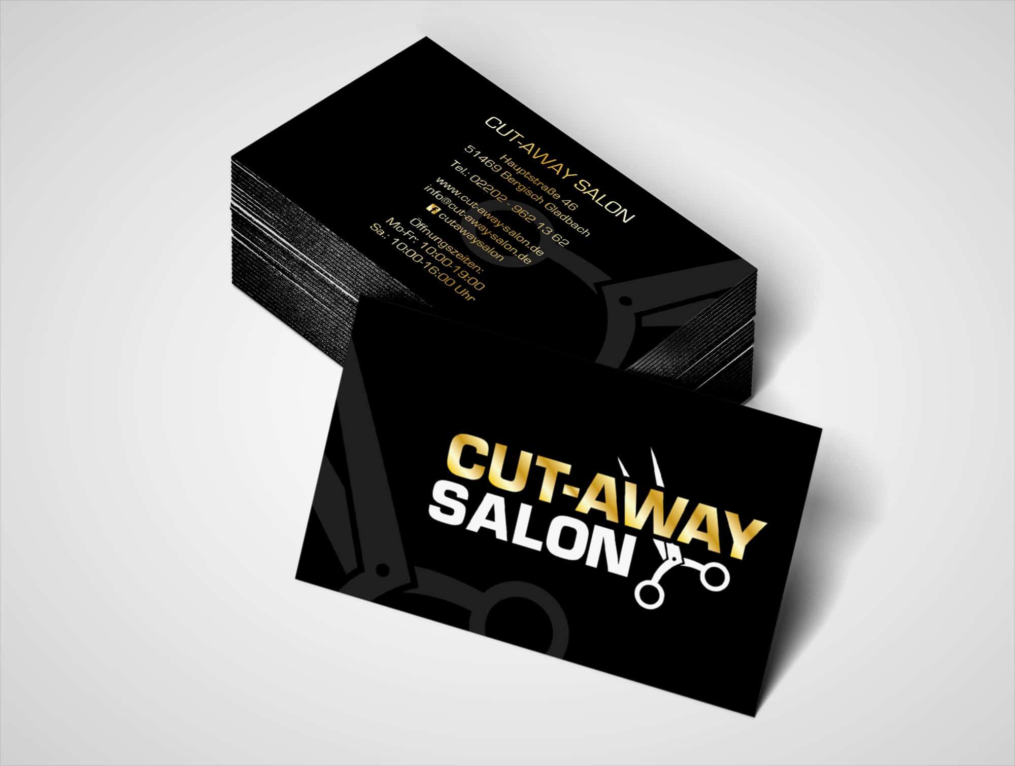 Exclusiv Transparente Kunststoff Visitenkarte Salonkarte