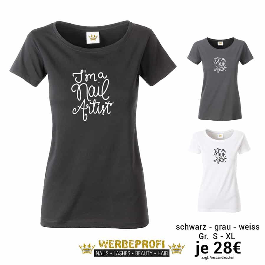 quality design 1bafe 440f7 Beauty MOTTO-Shirt langarm GLITZER BLING BLING (Gr. S-3XL - schwarz)