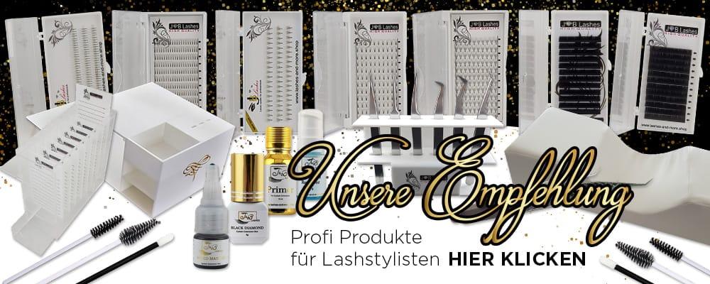 Profi Produkte für Lash Stylisten